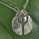 Silver Art Deco Pendant