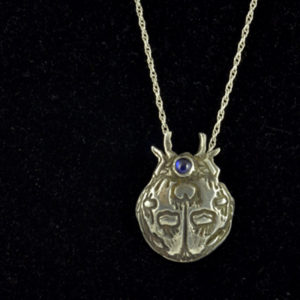 Silver Pendant - Lady Bug