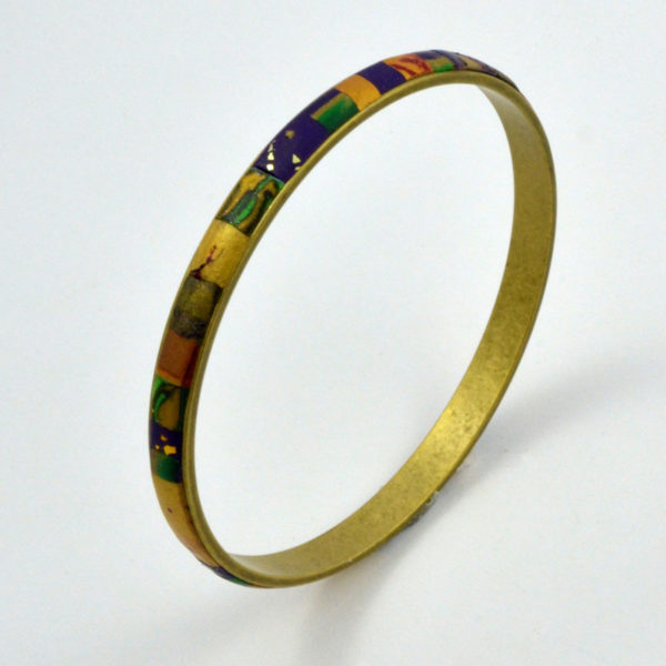 image of colorful bangle bracelet