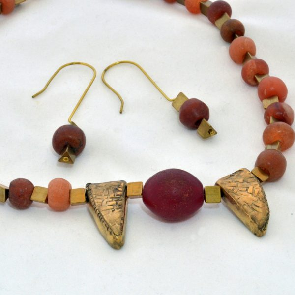 'Sharing' Carnelian Necklace